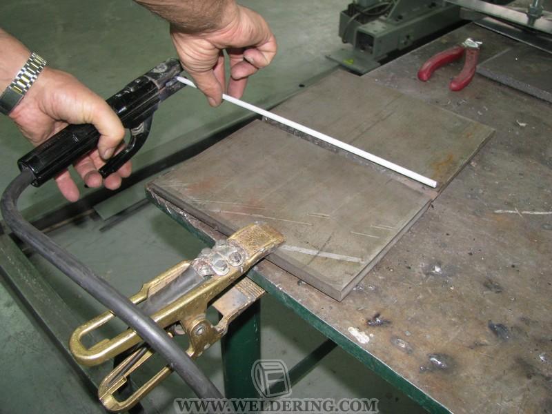 Video zváranie elektródami