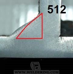 Асимметрия углового шва