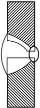 Форма поперечного сечения шва
