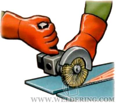 Зачистка механическим способом