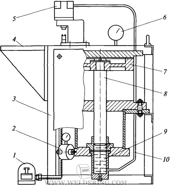 Рисунок 2 - Схема установки